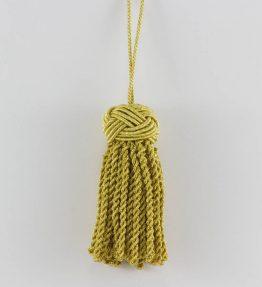 Fiocco Nodo Salomone grande - colore oro chiaro