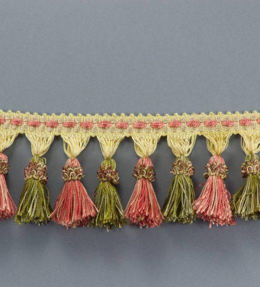 Frangia Rouche rosa-verde web