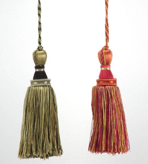Fiocco Tropea - nocciola/nero